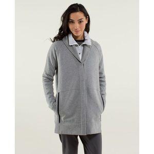 Lululemon Yin to My Yang Cardigan Grey Size 8